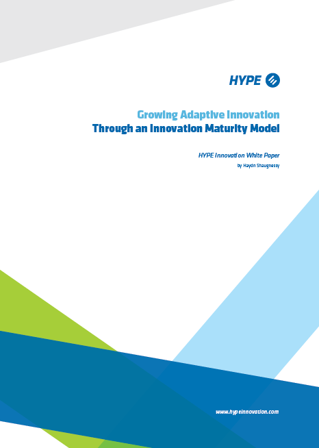 Cover of the report about innovation maturity
