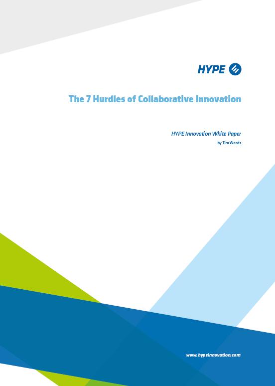 7 Hurdles of Collaborative Innovation