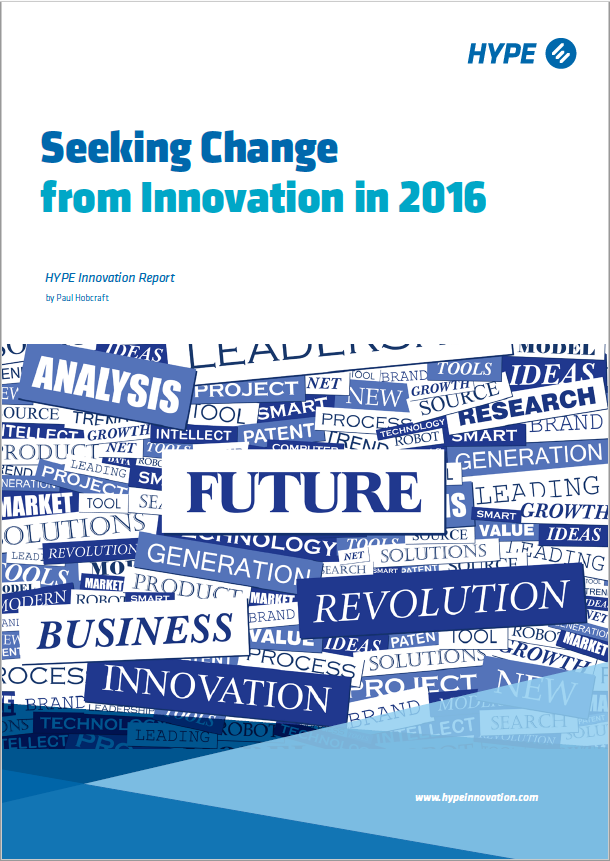 Seeking Change from Innovation in 2016