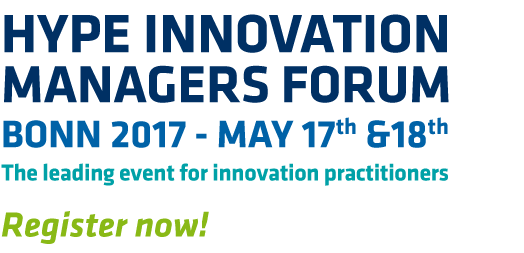 Text introducing HYPE Innovation Manager Forum in Bonn