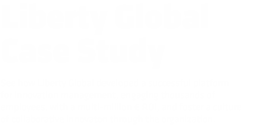 Liberty Global case study presentation