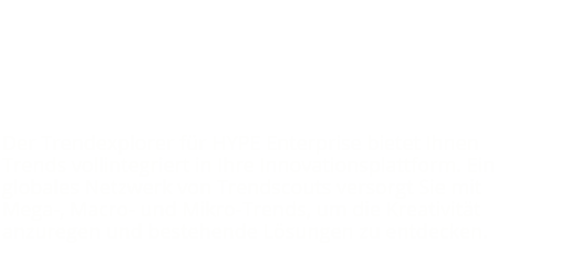 Presentation of the partnership between TrendOne and HYPE Innovation