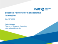 Title Success Factors of Collaborative Innovation