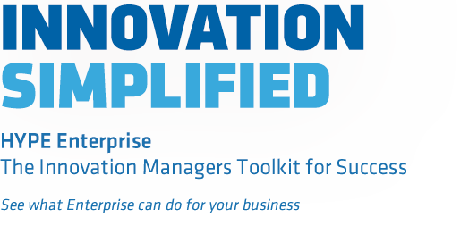 Introduction to HYPE Enterprise, a software for innovation management
