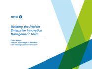 Building the Perfect Innovation Management Team