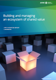 building ecosystems of shared value - white paper cover
