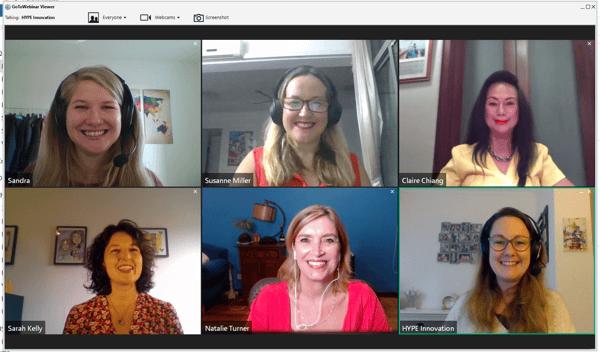 Women in innovation webinar session2