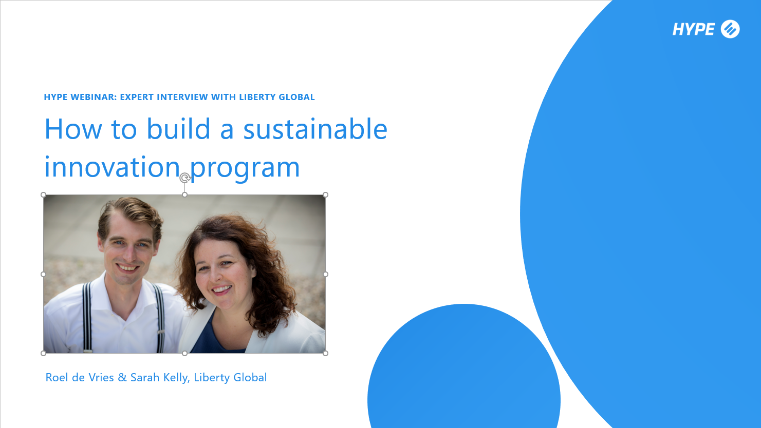 Panel Discussion: How to build a sustainable innovation management program