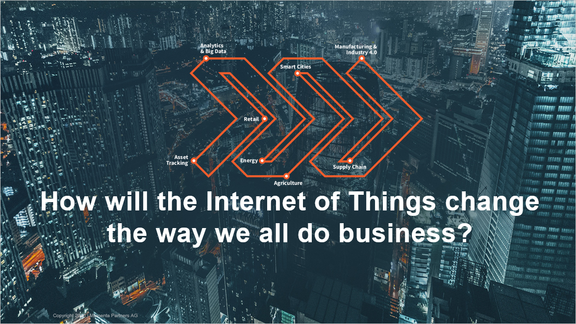How the Internet of Things Will Change the Way We Do Business