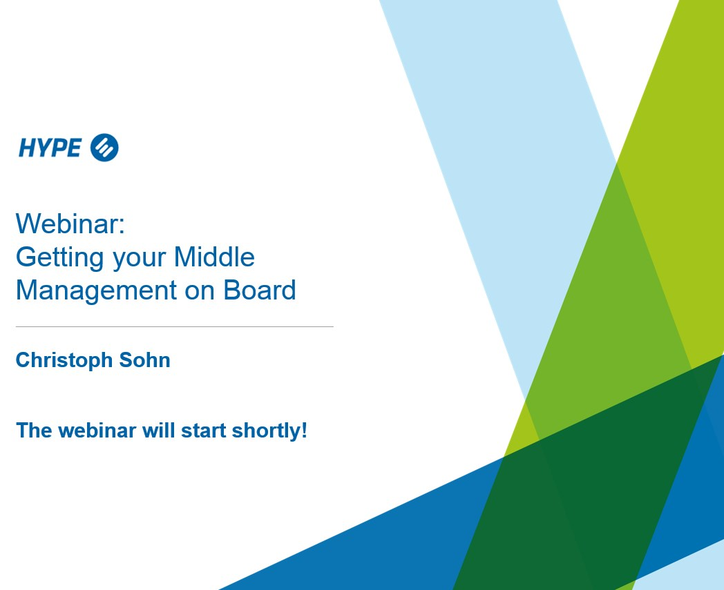 How to Get Your Middle Management on Board