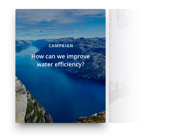 a computer showing the idea campaigns with HYPE's innovation management software