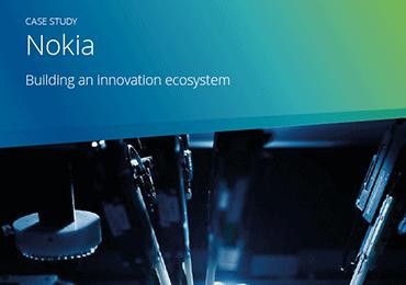 page de couverture de l'étude cas sur Nokia