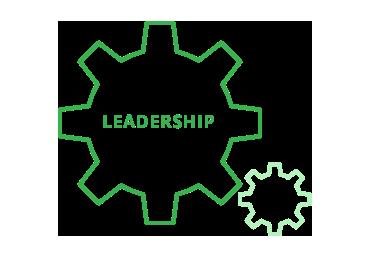 icône du leadership dans le processus d'innovation