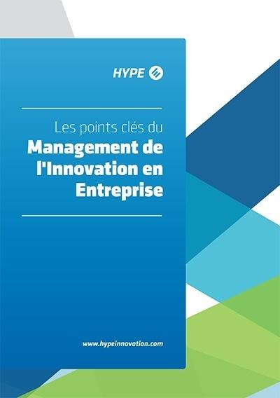 page de couverture de la brochure sur les point clés du management de l'innovation
