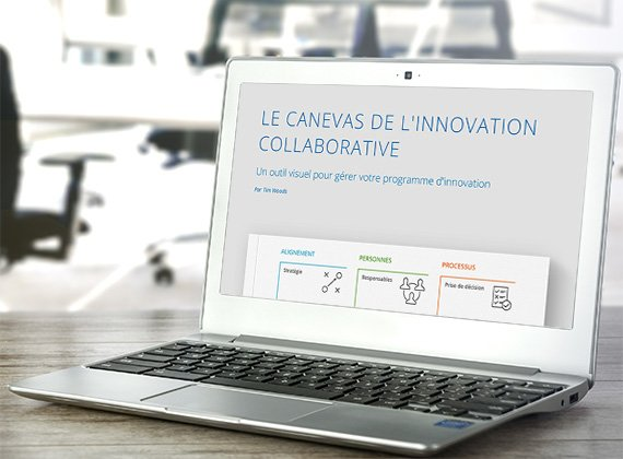 Canevas de l'Innovation Collaborative sur ordinateur