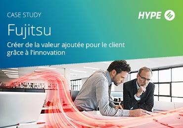 page de couverture de l'étude de cas sur Fujitsu