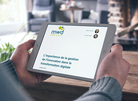 Rapport sur la transformation digitale sur tablette