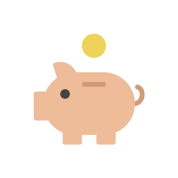 cost saving innovation icon
