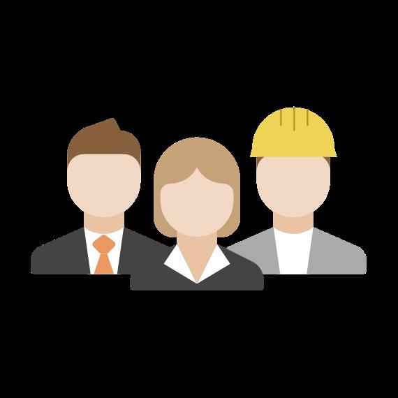 icône pour les employés impliqués dans l'innovation