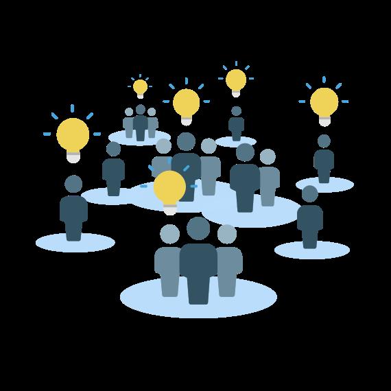 illustration pour de l'Open Innovation