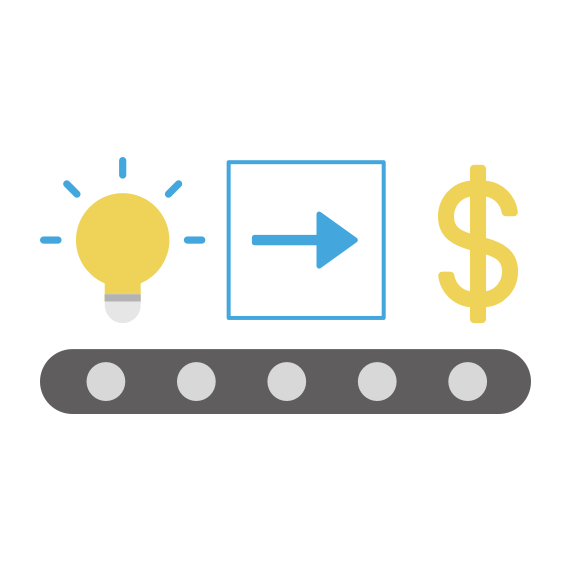 innovation process icon