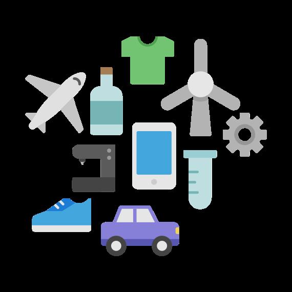 icône pour l'innovation de produits
