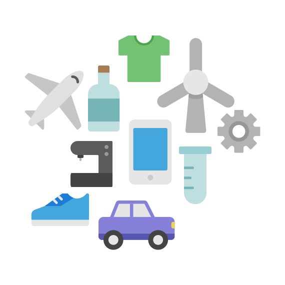 icon for innovation for product development