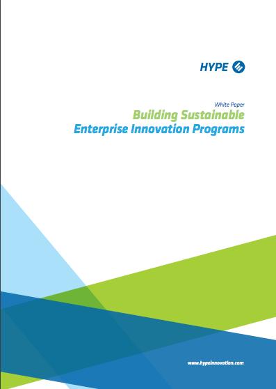 Building Sustainable Enterprise Innovation Programs
