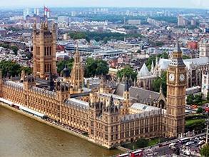 London in UK