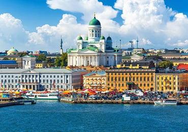 Ville d'Helsinki en Finlande