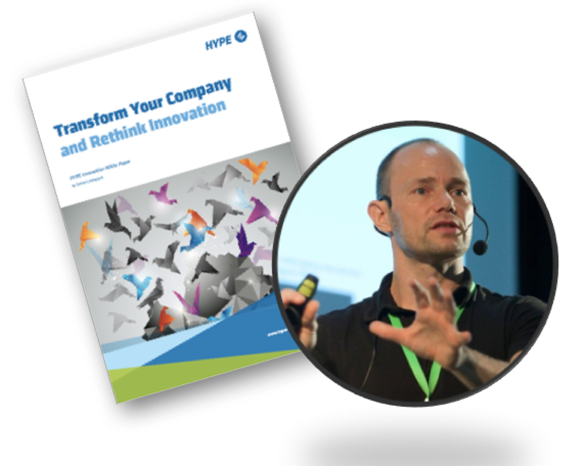 brochure about transforming your company for innovation