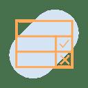 scorecard evaluation icon