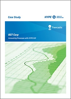 cover page of the BST case-study