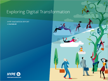page de couverture du rapport sur la transformation digitale