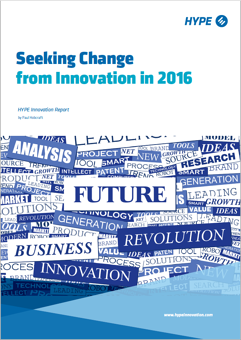 cover page of the seeking change from innovation report