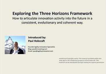 miniature du rapport de Paul Hobcraft sur les 3 horizons de l'innovation