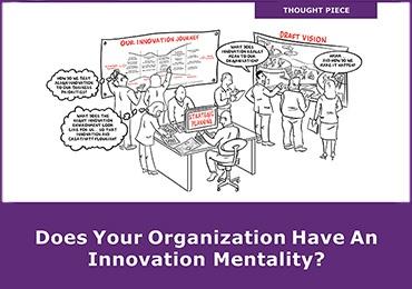 couverture du rapport sur la mentalité d'innovation