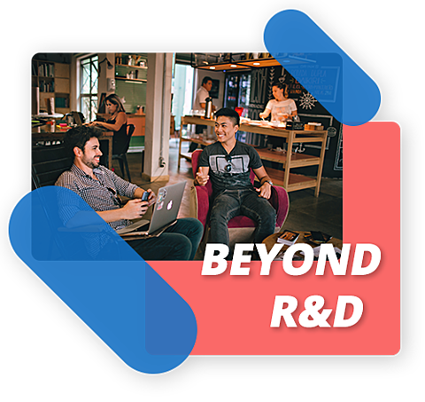 Dépassez les frontières du département R&D