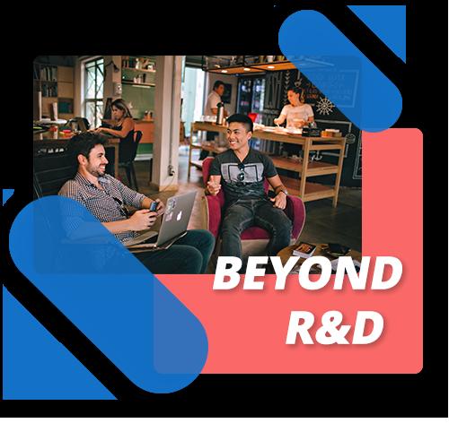 Beyond R&D boundaries