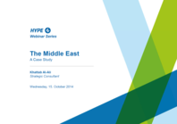 The Middle East - A Case Study about Innovation Management