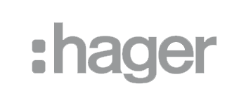Logo de Hager